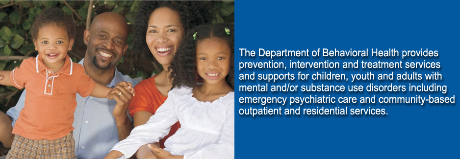 Department of Behavioral Health,
