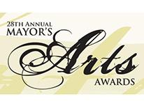 28th Annual Mayor's Arts Awards Logo