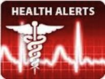 Health alerts graphics